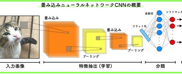 画像処理でよく使われる畳み込みニューラルネットワークとは